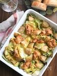 すごい味噌鶏と春野菜のぎゅうぎゅう焼き