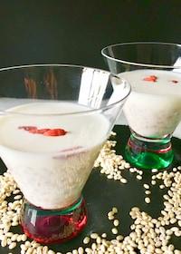 『【もちもち美味しい】もち麦入りココナッツミルク♪』