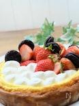 フライパンDEチーズケーキ