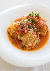 『ロールキャベツのトマト煮』