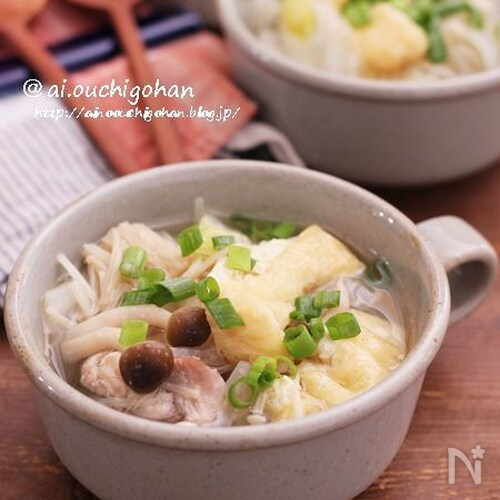 お漬物で?鶏肉と白菜のさっぱりスープ煮♡