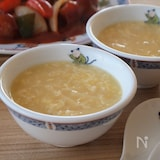 たけのことコーンの中華スープ