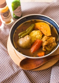『ターメリックライス&具を一緒に作るスープカリー【炊飯器】』