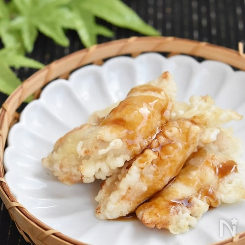 天丼屋さんの鶏むね肉の甘辛天ぷら