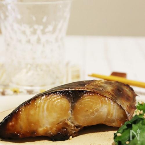味噌マヨで簡単♪さわらの西京焼き