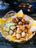 ホットサンドメーカーがあれば簡単!切り餅で作るおかき