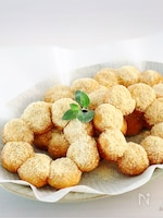 白玉粉deもちもち♪<簡単>ポンデ風ドーナツ♡