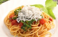 しらすパスタ トマト風味