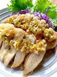 サクッとジュワッと鶏むね肉の白唐揚げ〜油淋鶏ソース〜