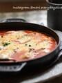 オーブン放置♪トマトに溺れる牡蠣グラタン〜決め手は隠し味♪