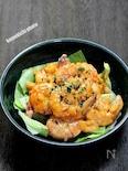 まろやか味の「海老のヨーグルトマヨ」