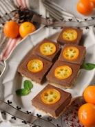 きんかん入りチョコレートチーズケーキ