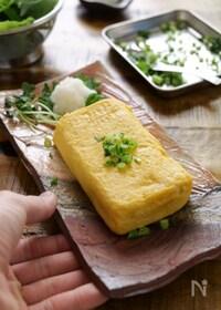 『我が家の定番!優しいお出汁のだし巻き卵 #厚焼き卵#白だし』