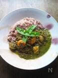 小松菜のグリーンカレー