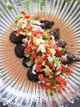 夏疲れを癒す♪秋茄子の野菜メキシカンマリネ