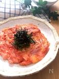 食感もよくておつまみにもぴったり♡長芋もち明太チーズ焼き