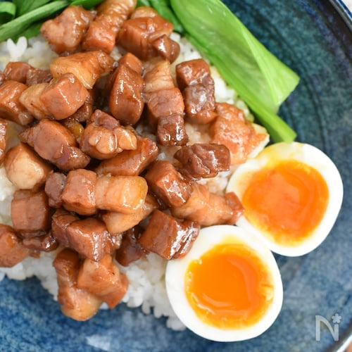 【ご飯が進む台湾飯!】魯肉飯(ルーローファン)