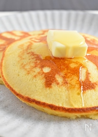 『米粉と甘酒のパンケーキ』