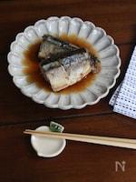 圧力鍋で秋刀魚の煮付け