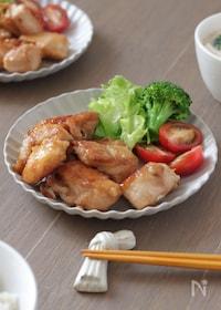 『【下味調理】【下味保存】鶏むね肉のさっぱり煮』