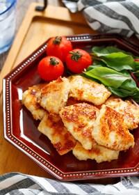 『むね肉の味噌マヨ漬け【#下味冷凍#揉んで焼くだけ#お弁当】』