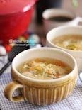 たっぷり野菜でおかずのような*ふんわりたまごのご馳走スープ♡