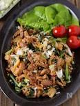 【スタミナ味でご飯が進む】甘辛味噌の豚ニラキムチ #ごま油