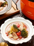鶏肉とたっぷり野菜の洋風のトマト煮