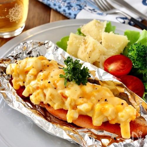 鮭のタルタルチーズ焼き