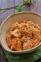 レンジで作り置き!切り干し大根と鶏肉と絹厚揚げの煮物