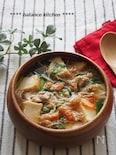 ダイエットにも!厚揚げと切り干し大根のキムチスープ