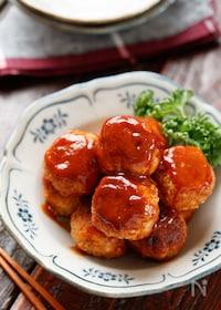 『ふわふわ豆腐ミートボール【#作り置き#冷凍保存#お弁当】』