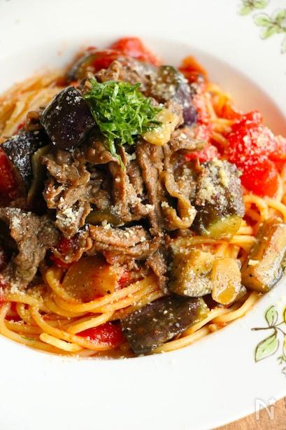 バリエ豊富♪ なすとトマトで作るパスタレシピ15選