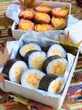 彩り厚焼き玉子巻き寿司