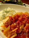 ほったらかしが美味しい♪圧力鍋でトマトシチュー(バターライス