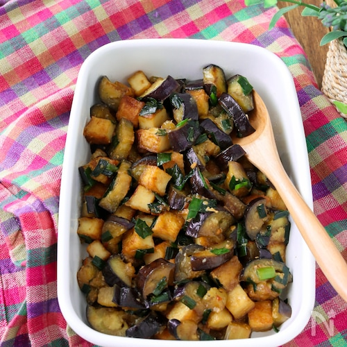 常備菜*茄子と厚揚げの味噌炒め
