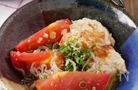 【たれがうまい】ごま油香る!ちぎり豆腐とトマトのさっぱり和え