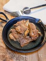 圧力鍋で作る「スペアリブの甘辛煮」