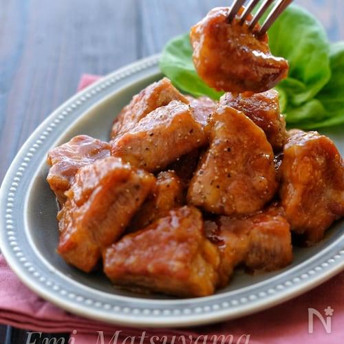 豚 ロース かたまり 肉 レシピ