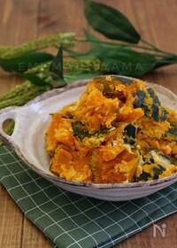 『レンジで簡単!*かぼちゃのクリームチーズ煮*やみつき』