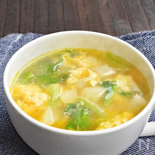 【簡単】かぶのコンソメスープ