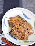 塩鯖の甘辛ごま照り焼き【作り置き】