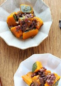 『冬至の日に食べよう!塩麴入りかぼちゃのいとこ煮』