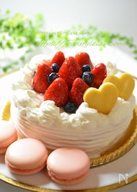 『ふんわり♡米粉のスポンジケーキ(別立て)』