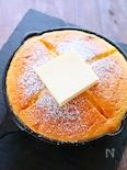 ホットケーキミックスで作る!カステラパンケーキの作り方レシピ