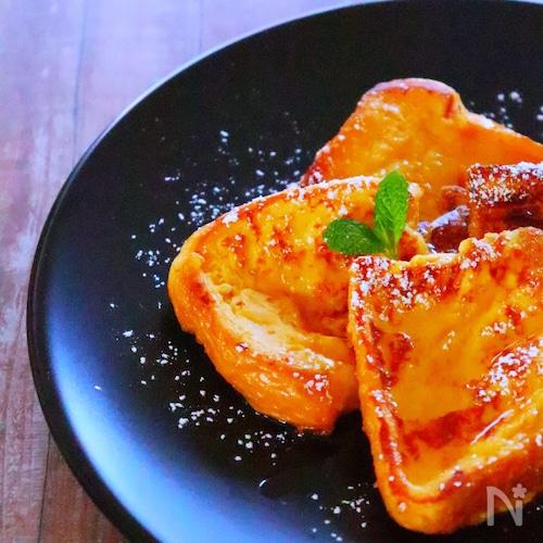 ふわとろ食感♡甘酒フレンチトーストの作り方・簡単レシピ