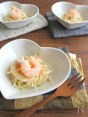 大人気☆海の幸のサラダスパゲティ