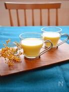 とうもろこしの冷製豆乳スープ