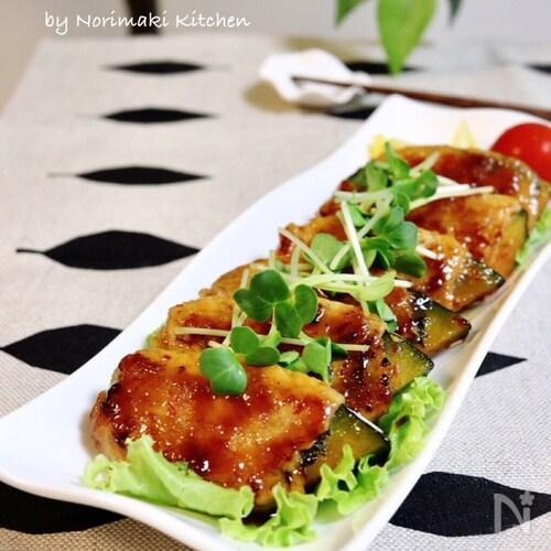 簡単*南瓜と紫蘇の豚肉巻き