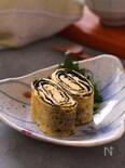 ごま油香る 韓国のりの卵焼き
